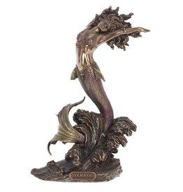 Nemesis Now Yemaya Godin van de Oceaan gebronsd beeld 27cm