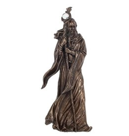 Nemesis Now Merlin bronzed figurine 28cm