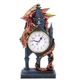 Nemesis Now Time Guardian Staande klok met draak