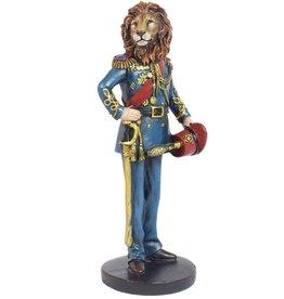 Trukado Lion General figurine, hand painted - 16cm