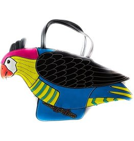 Laura Vita Fantasy Bag Parrot black