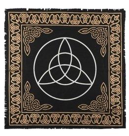 Trukado Altar Cloth Triquetra - Trinity Knot  -  60 X 60CM