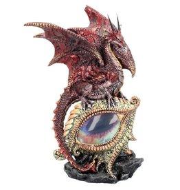 Alator Drakenoog beeld  met verlichting - Eye of the Dragon