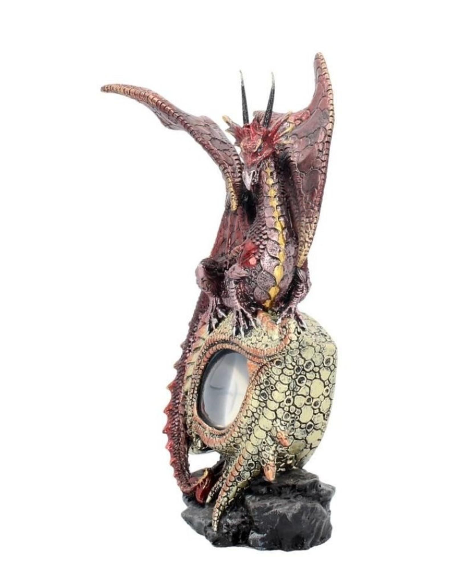 Alator Giftware, beelden, collectables - Drakenoog beeld  met verlichting - Eye of the Dragon