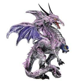 Alator Purple Dragon Protector Fantasy Figurine 14,5cm