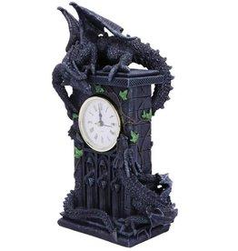 Alator Duelling Dragons Clock Nemesis Now  (26cm)