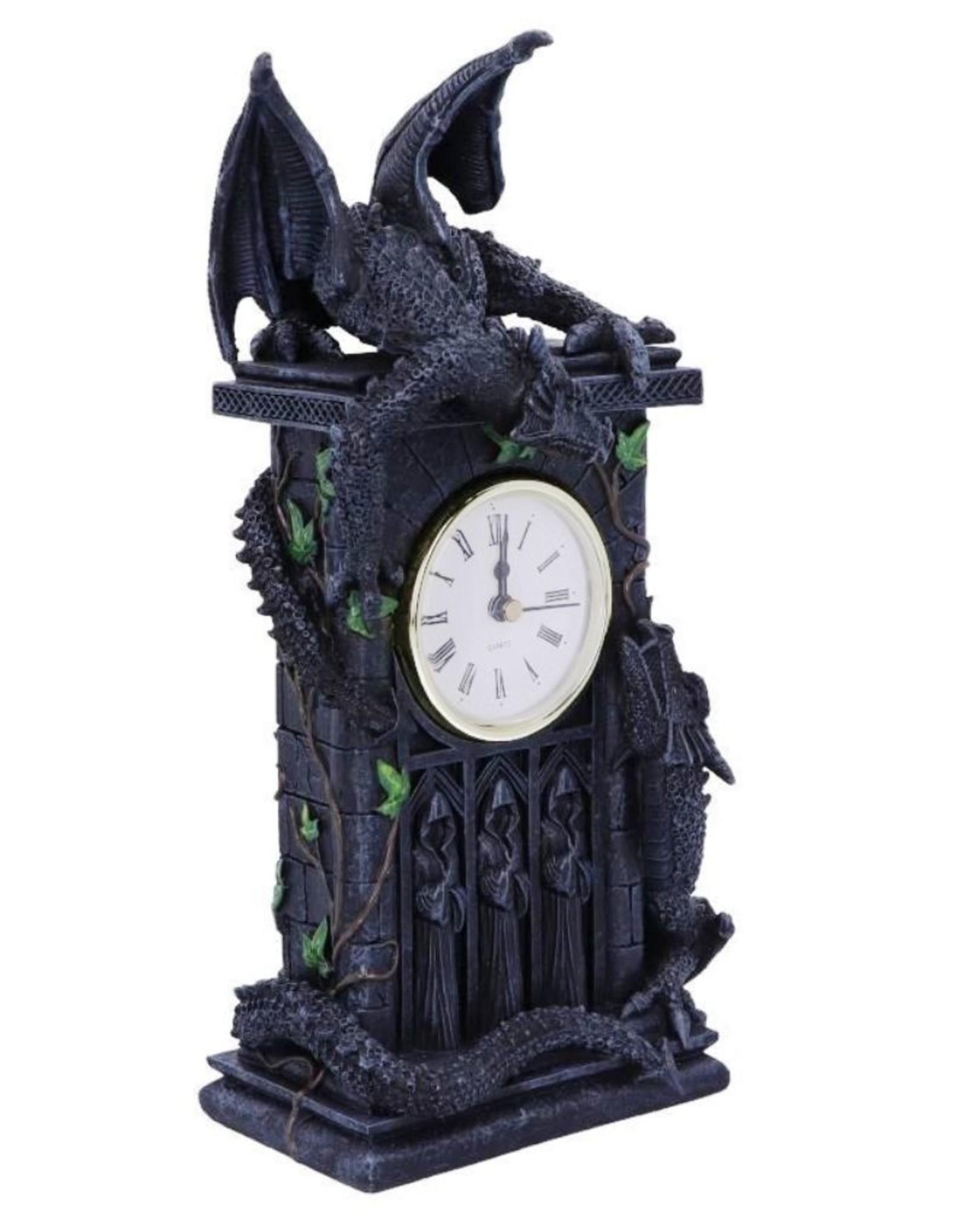 Alator Giftware & Lifestyle - Draken duel Tafelklok Nemesis Now (26cm)