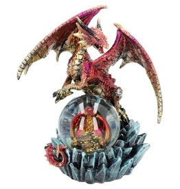 Alator Ruby Oracle Red Dragon Fortune Seer Figurine