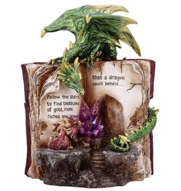 Alator Hoard Finders - Dragon with Book & Crystal  - LED