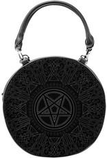 Killstar Killstar tassen en accessoires - Killstar Super Naturalist Pentagram handtas