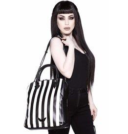 Killstar Killstar Lines handbag with tablet compartement