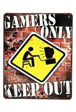 Trukado Miscellaneous - Gamers Only metalen bord