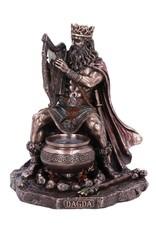 Veronese Design Giftware & Lifestyle -  Dagda Koning van Tuatha De Danann gebronsd beeld