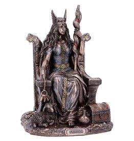 Willow Hall Frigga Norse Goddess of Wisdom Bronzed Statue