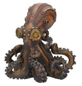 Nemesis Now Octo-Steam Steampunk Octopus Squid Bronzed Figurine