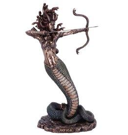 Veronese Design Medusa's Wrath bronzed figurine 36cm