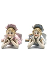 Trukado Miscellaneous - Een Paar Porseleinen Meisjes Rococostijl