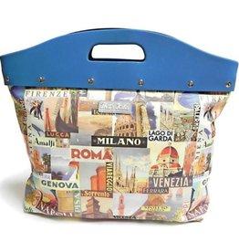 That's Italia That's Italia Retro handbag Italian Cities