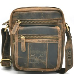 Hunters Hunters shoulder bag with front pocket and cover