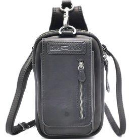 HillBurry HillBurry  Leather Shoulder bag-belt bag  black