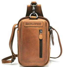 HillBurry HillBurry  Leather Shoulder bag-belt bag  cognac