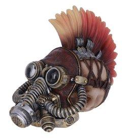 Alator Punk-Schedel Flame Hawk 23cm