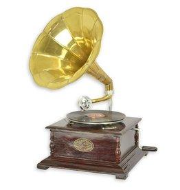 Gramophone company Grammofoon - Ouderwetse platenspeler met hoorn