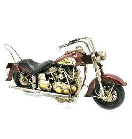 Indian Vintage Indian Motor metalen miniatuur (bordeaux)