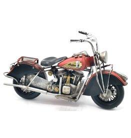 Indian Vintage Indian Motor metalen miniatuur (rood)