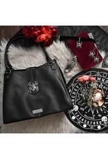 Killstar Killstar tassen en accessoires - Killstar Black Widow schoudertas