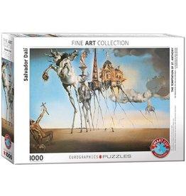 Eurographics Puzzel Salvador Dali De verzoeking van Sint Antonius 1000 stukjes