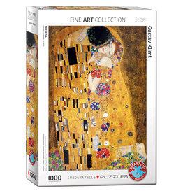 Eurographics Puzzle Gustav Klimt The Kiss 1000 pcs