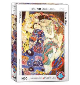 Eurographics Puzzel Gustav Klimt De Maagd 1000 stukjes