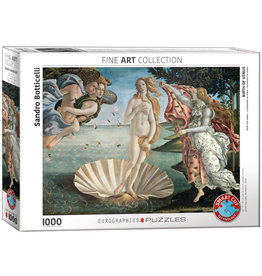 Eurographics Puzzel Sandro Botticelli Geboorte van Venus 1000 stukjes