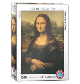 Eurographics Puzzle Leonardo da Vinci Mona Lisa 1000 pcs