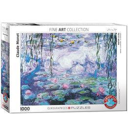 Eurographics Puzzel Claude Monet Waterlelies 1000 stukjes