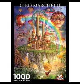 Puzzelman Puzzel Ciro Marchetti Tarot Town 1000 stukjes