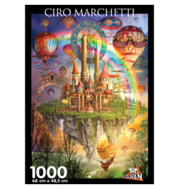 Puzzelman Puzzle Ciro Marchetti Tarot Town 1000 pcs