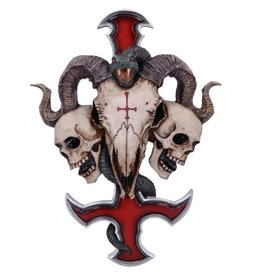 James Ryman bij Nemesis Now Devils Cross Wandplaat 30.5cm James Ryman