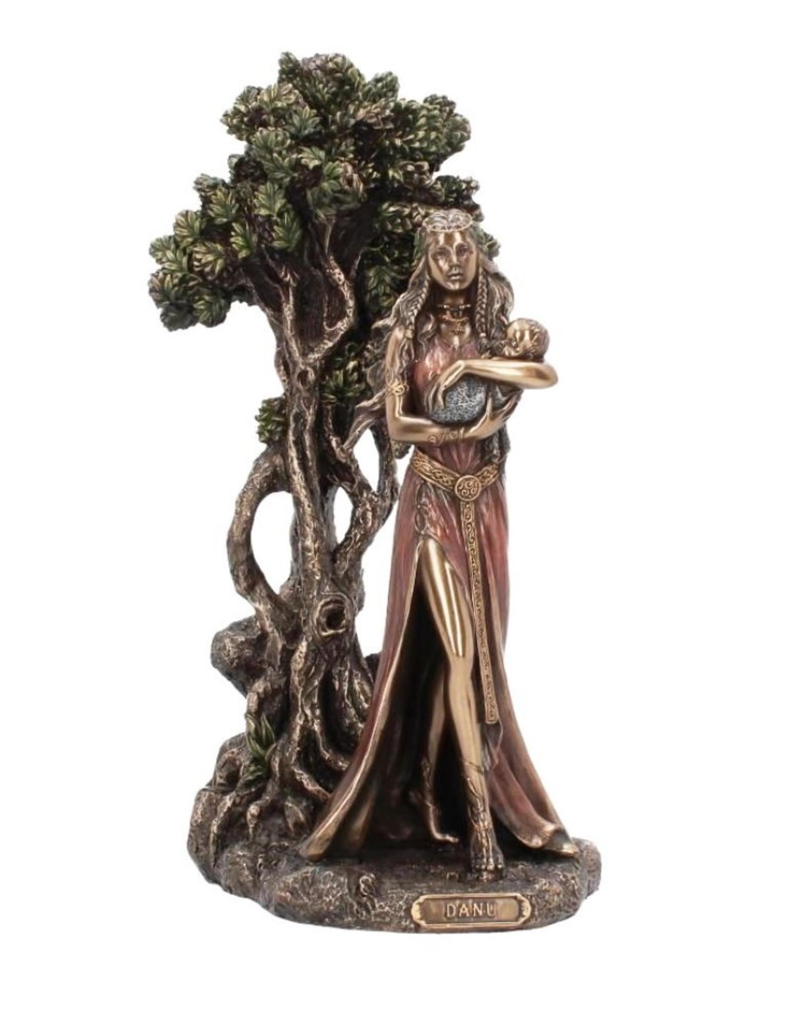 Willow Hall Giftware & Lifestyle - Danu - Moeder van de Goden gebronsd beeld 29,5cm