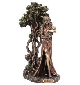 Willow Hall Danu Mother of the Gods bronzed figurine 29.5cm