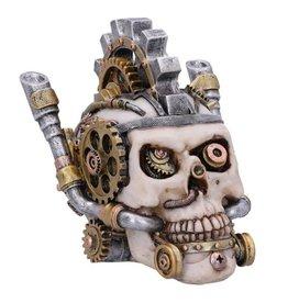 Nemesis Now Metal Head Schedel-opbergdoosje