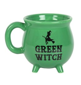 Something Different Green Witch Cauldron mok