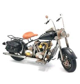 Indian Vintage Motor metalen schaalmodel (zwart)