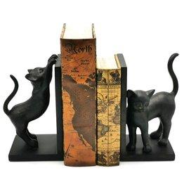 Trukado Zwarte Gelukskatten boekensteunen set van 2