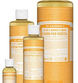 Dr Bronner's citrus orange 240ml