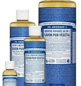 Dr Bronner's Perppermint savon 240ml