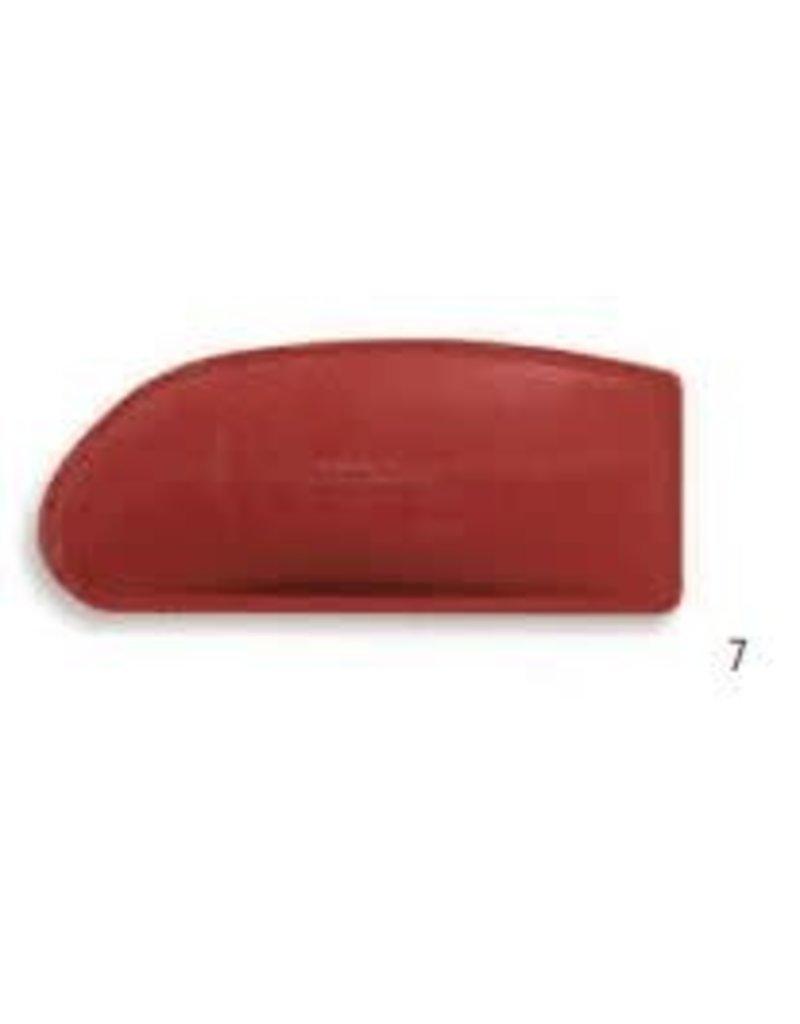 KB MISC 2402 7  lomer rubber rood rechte hoek groot