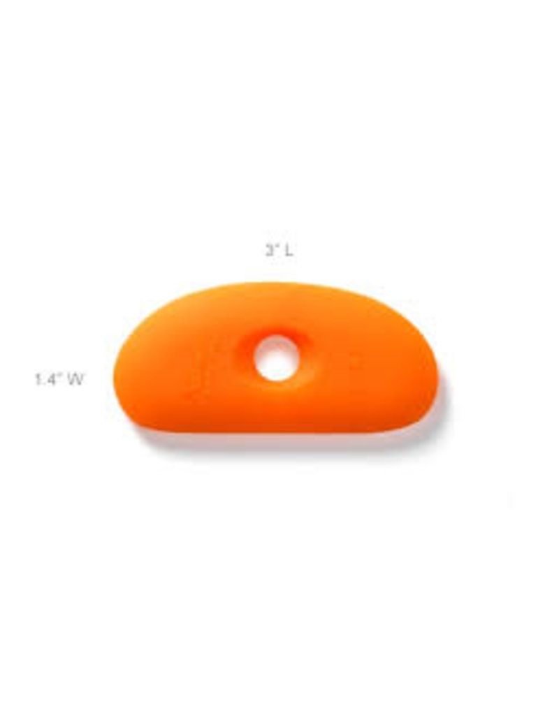 XIEM XM SCR1 O silicone clay rib ORANGE