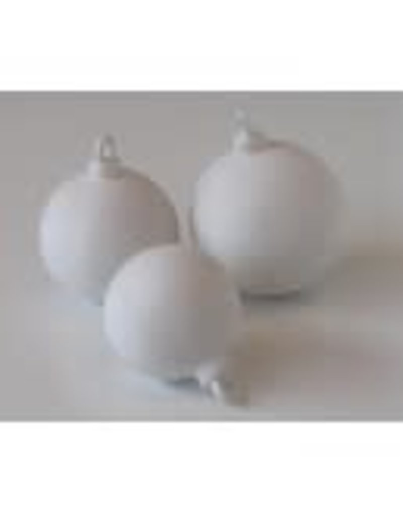 DUTCH MOLDS DM 195 mal  3 ronde kerstballen  6,7, 8 cm